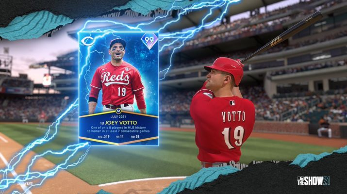 MLB the Show July Monthly Awards Program