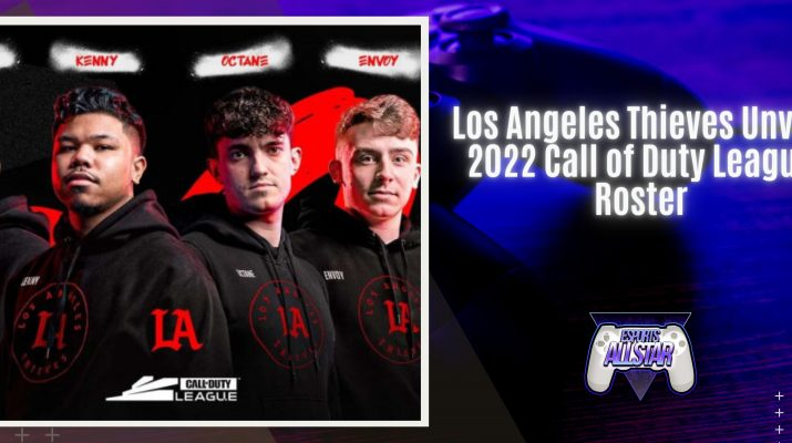 Los Angeles Thieves Unveil 2022 Call of Duty League Roster