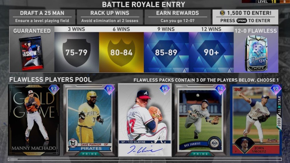 MLB The Show Content Update Battle Royale
