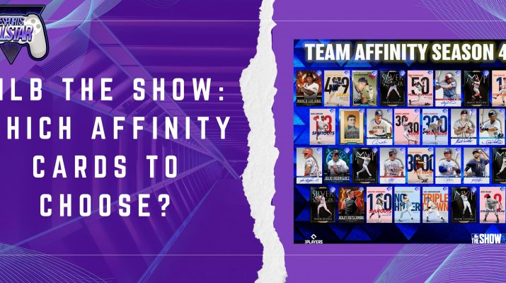 MLB The Show Which Affinity Cards To Choose