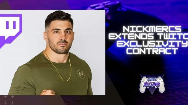 Nickmercs extends twitch exclusivity contract